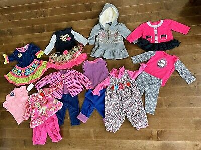 Mixed Lot Baby Girl 9 Months Baby Nay Ralph Lauren Rare Editions Baby Starters
