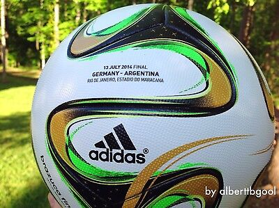 Adidas Brazuca Final Rio Official Match ball 100% authentic n teamgeist jabulani for sale  Gainesville