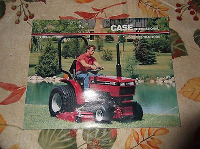 Case Ih 200 Series Tractor Sales Brochure 235 245 255 275 Case Ih Tractor