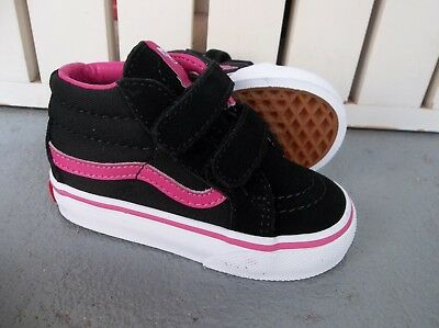 NWT VANS GIRLS TODDLER TD SK8-MID REISSUE V SNEAKERS/SHOES.SIZE 5.NEW FOR 2018! - Vans For Toddler Girls