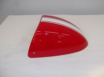 Triumph Thruxton, 2007, OEM seat cowl, red and white