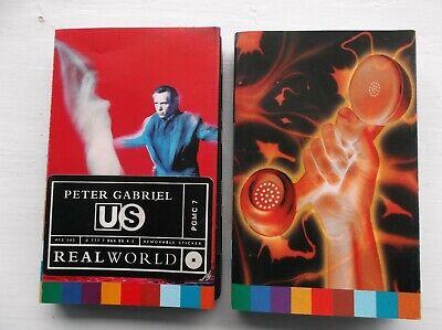 Peter Gabriel: US, Secret World Live, SW Live EP, Kiss That Frog: four cassettes