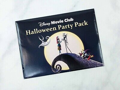 Halloween Party Movie (Disney Movie Club Halloween Party Pack The Nightmare Before Christmas)