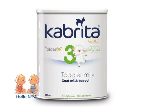 Kabrita 3 Toddler Goat Milk Formula 800g Free Shipping
