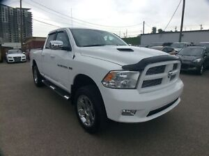 2012 Ram 1500 Sport/ QUAD CAB/ H&C LEATHER/ NAVI/ CAM/ BED LINER