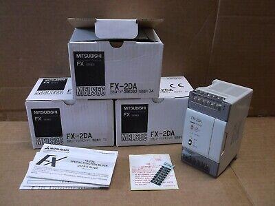 Fx-2da Mitsubishi New In Box Plc 2 Point Analog Output Expansion Card Fx2da