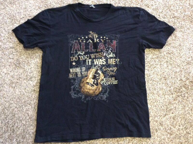 2016 GARY ALLAN Concert Tour Tee Shirt, Size XL