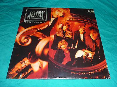GENE LOVES JEZEBEL - HOUSE OF DOLLS - SEALED 1987 LP