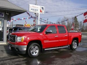 2011 GMC Sierra 1500 SLE Crew 4X4, Heated Bucket Seats, Tow Pack