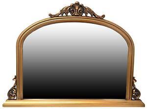 17a37140d0367 Antique Overmantle Mirrors