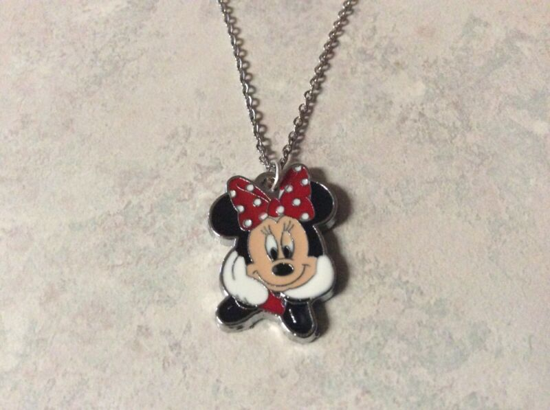 MINNIE MOUSE NECKLACE IN Red