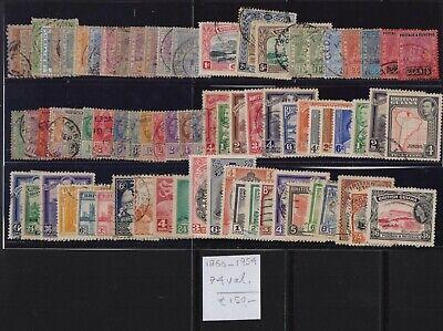 ! British Guyana 1860-1954. Lot Of 74 Stamp. YT#. €150.00!