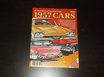 1957 Cars The Editiors Of Consumer Guide Collectors Edition Aug 1980 Flashback