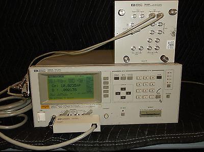 Hp Agilent 4284a Precision Lcr Meter -001 -006