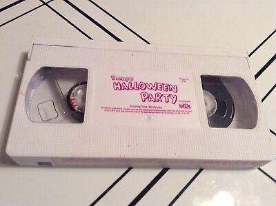 Barneys Halloween Party VHS TAPE ONLY 1998 Never Seen on TV 50 Minutes FREE - Barneys Halloween Party