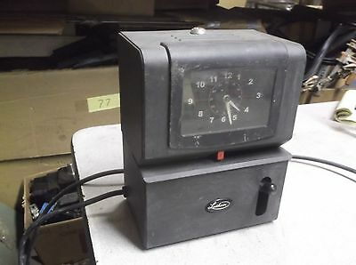 Lathem Time Clock Model 2121 Employee Punch Clock No Key Free Shipping