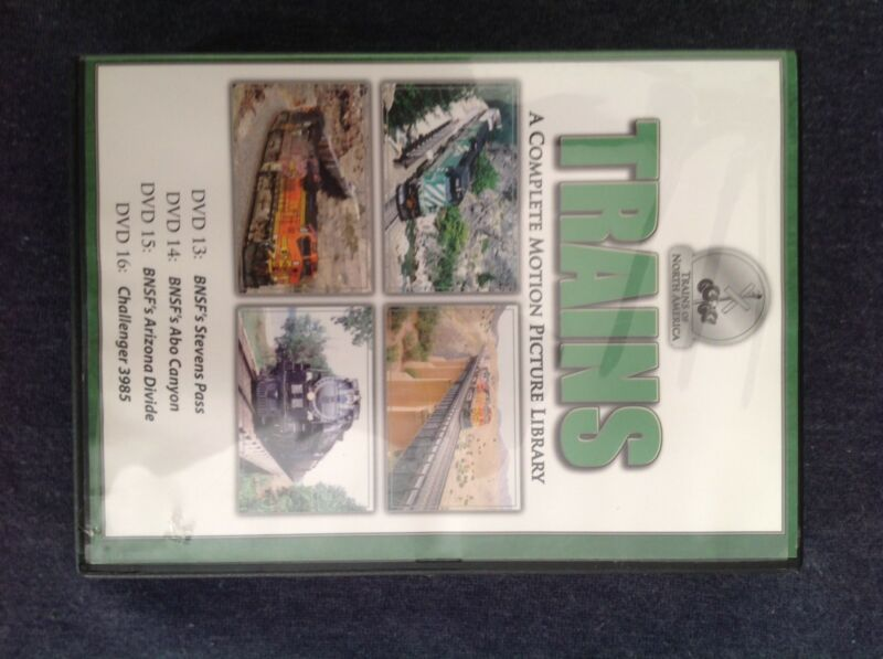 Trains A Complete Motion Picture Library 13-16 (4 DVDs 2009) BNSF