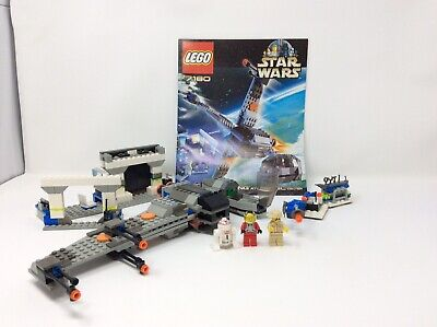 LEGO 7180 - Star Wars - B-wing at Rebel Control Center - Complete With Manual