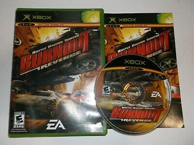 Burnout: Revenge (Microsoft Xbox, 2005) COMPLETE w/ Manual for sale  Shipping to India