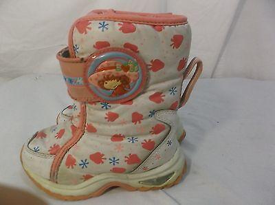 Cute Strawberry Shortcake Pink & White Winter Snow - Strawberry Shortcake Schuhe