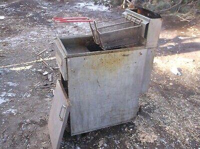 Royal Used 50 Lb Deep Fryer Rftm-50 Commercial Usa