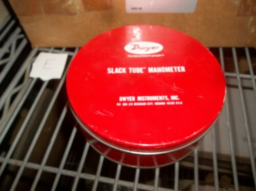 DWYER 1211 ROLL-UP SLACK TUBE MANOMETER