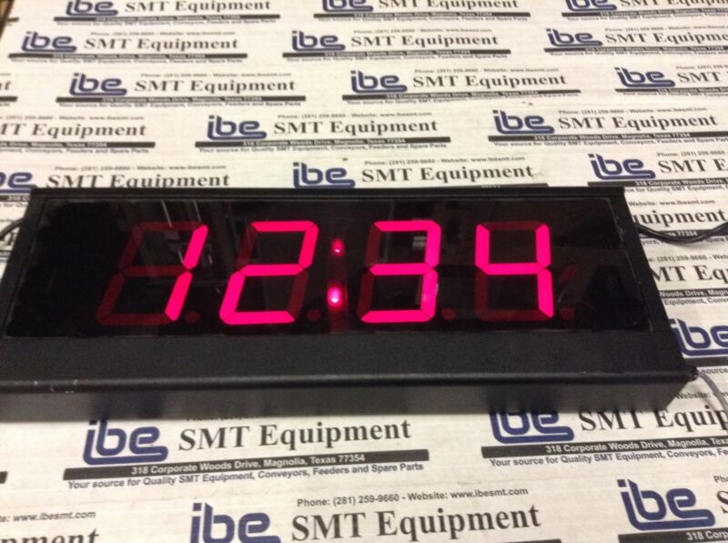 EDI Electronic Display Digital Sign ED406-104-4DN1 120VAC