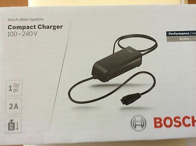 NEW!!! Bosch 2A eBike Compact Charger 100-240V