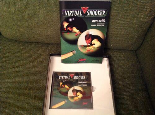 VIRTUAL SNOOKER GAME - steve davis
