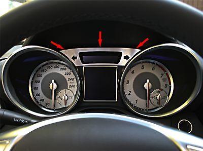 Mercedes Benz SLK R172 280 200 350 55 AMG Brabus Tacho Zierrahmen Alu Blende gro