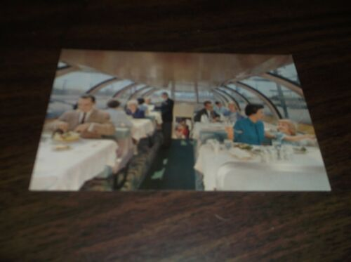 UNION PACIFIC CITY OF LOS ANGELES ASTRA DOME POSTCARD/ TRAIN STATIONERY