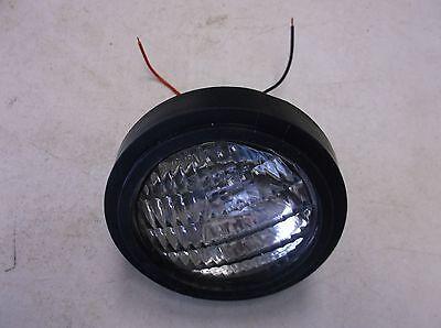 Allis Chalmers Fender Light 12v Sealed Beam Bulbrubber Trim 170 185 6040 7050