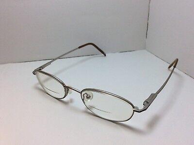 49 Dollar Glasses (Silver Dollar Eyeglasses FRAMES Ohio Gunmetal 49[]18)