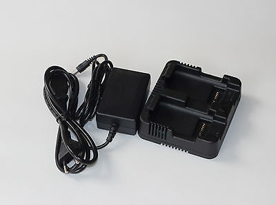 Nikon Nivo M Nivo C Dual Charger For Nikon Mc Total Stations 3pin