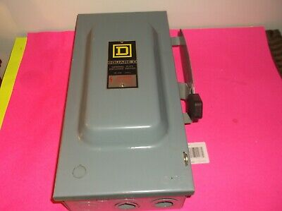 Square D Safety Switch Du323 F1 100 240v Used