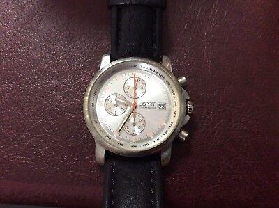 esprit Chronograph Watches Working