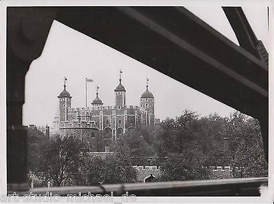 "Original Vintage-Foto von Robert Petschow: ""Tower of London"", um 1925"