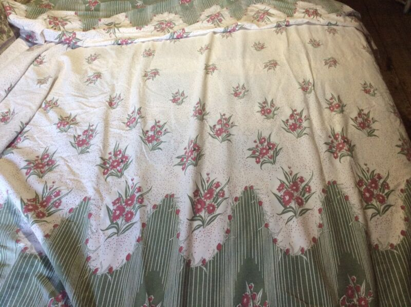 Antique Table Cloth  101 X 80