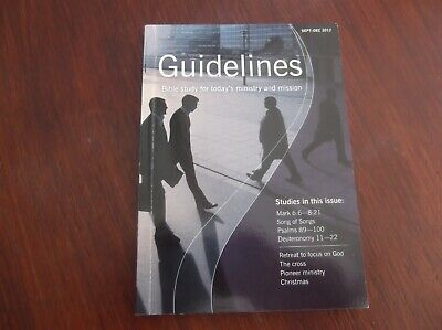 Guidelines BRF Sep-Dec 2012 Bible study magazine, 160 pages