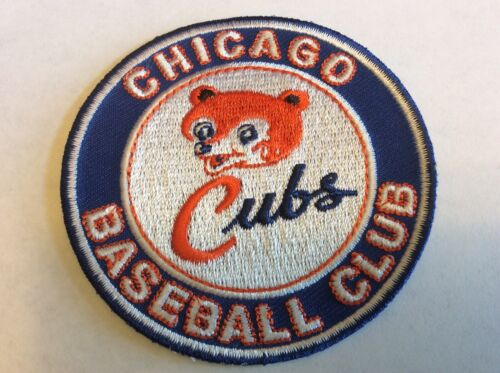 Cubs,Cubs,OLD STYLE.THROWBACK CHICAGO CUBS BASEBALL CLUB PAT