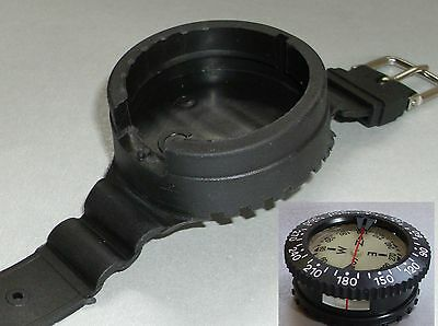 Tauchkompass Leerkonsole für Kompasskapsel Kompasskonsole Armband f. Kapsel