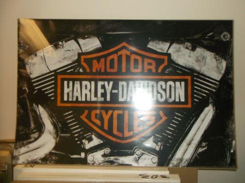 Harley-Davidson Wall Poster Collectible Art Engine #202