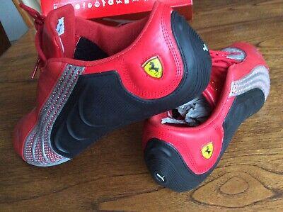 Ferrari Puma Trainers Driving Shoes Brand New