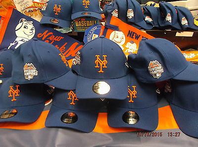 NY Mets New Era 2015  Championship Hat 39THIRTY New (2) FREE  VINTAGE - Ny Mets Hats