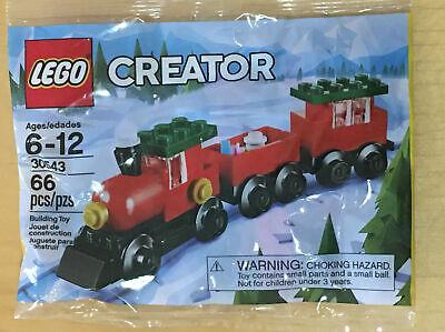 LEGO Creator 30543 Christmas Holiday Train Polybag BRAND NEW