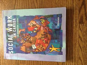 Social Work in Canada. UWO textbook. $20 OBO.