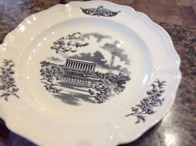 Wedgewood Panorama Federal Plate