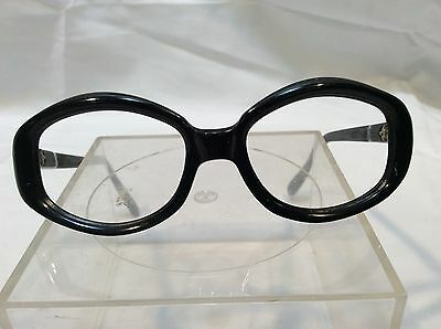 Vintage Women's Swank Eyeglass Frames Super Nerdy Cool Dorky Glasses