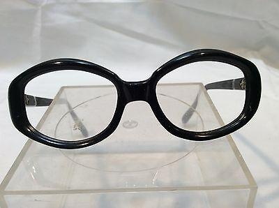Vintage Women's Swank Eyeglass Frames Super Nerdy Cool Dorky Glasses