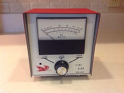 FIRE BIRD WM-500 RF Watt Meter for Radio Communications Tester